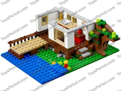 Lego 31010 Treehouse Set Parts Inventory And Instructions Lego