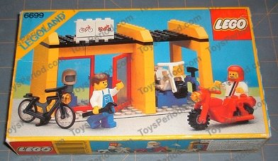 LEGO Moto blanche white Motorcycle Ref x81c02 //Set 6398 6699 6598 6540 6354 6348