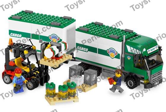 lego forklift truck instructions