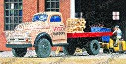 HO Accessories - Magnuson 439-935 Dodge 1953 Flatbed Truck ...  1953 Dodge Flatbed Truck