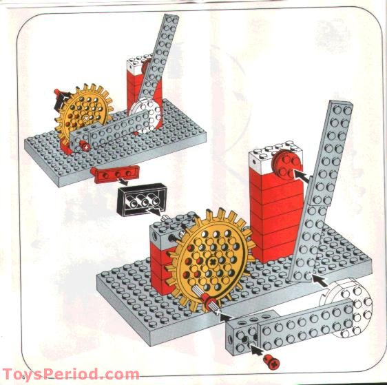Lego 802 1 Gear Supplementary Set Set Parts Inventory And