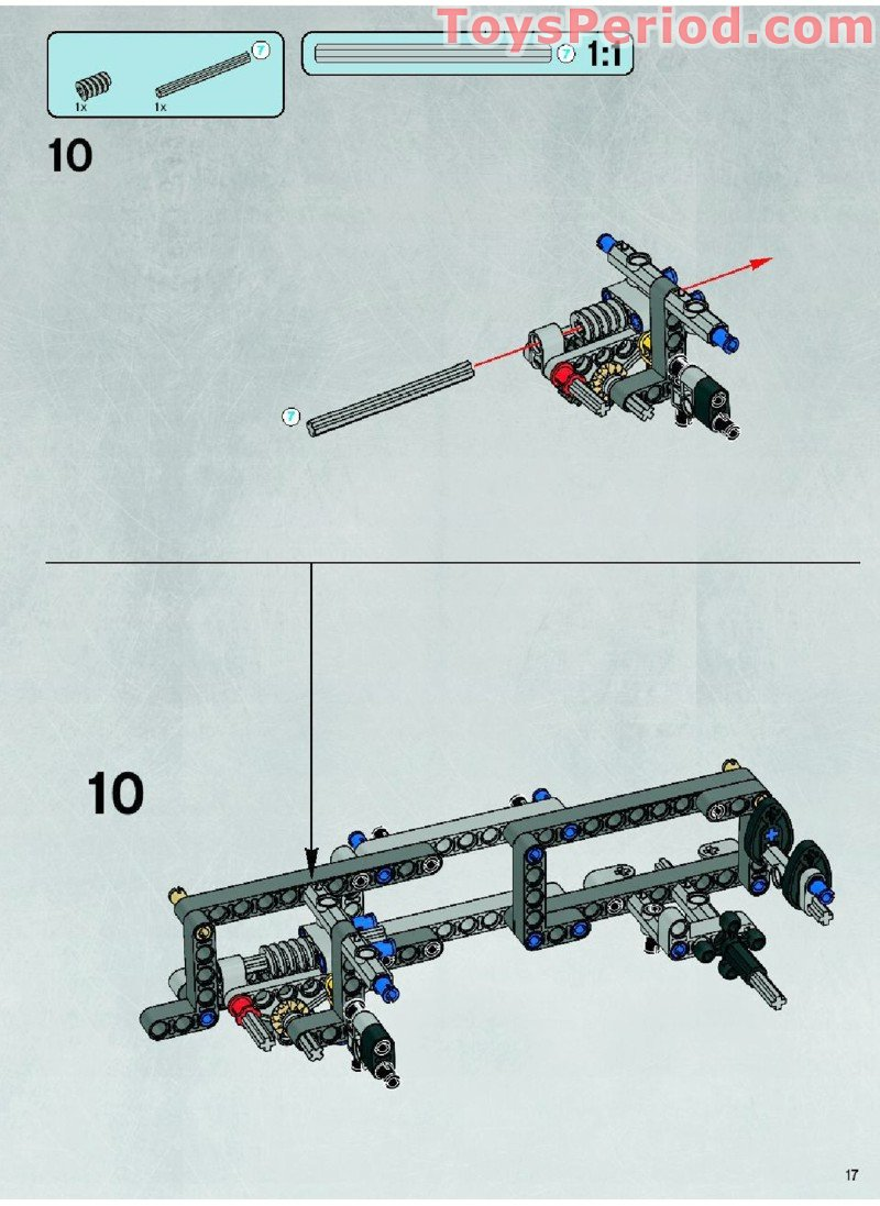 Lego 10178 Motorized Walking At At Set Parts Inventory And