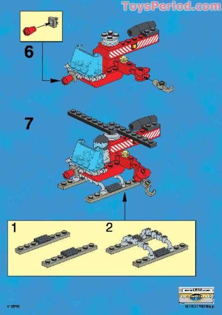 Lego 1294 Kabaya Promotional Set Fire Helicopter Set
