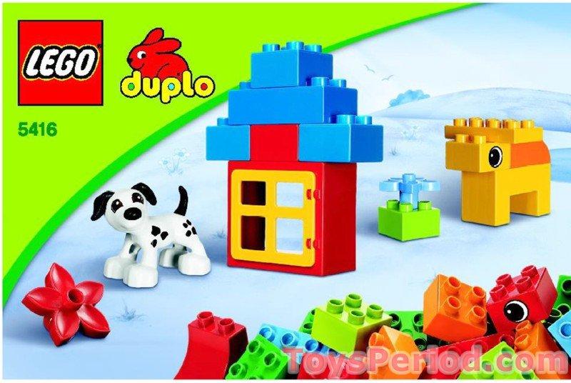 LEGO 5416 Duplo Brick Box Set Parts Inventory and Instructions ... 9365fa5d3241