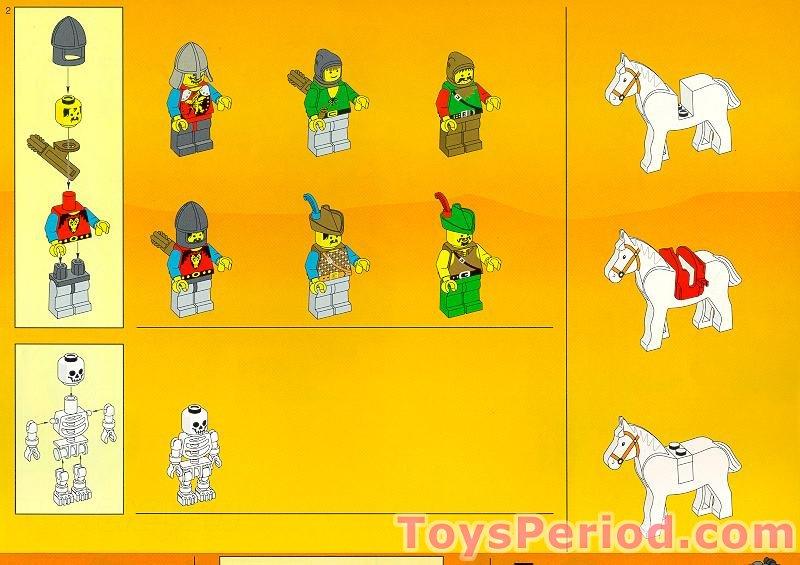 Lego 6079 Clôture 1 x 8 x 2 2//3 x1