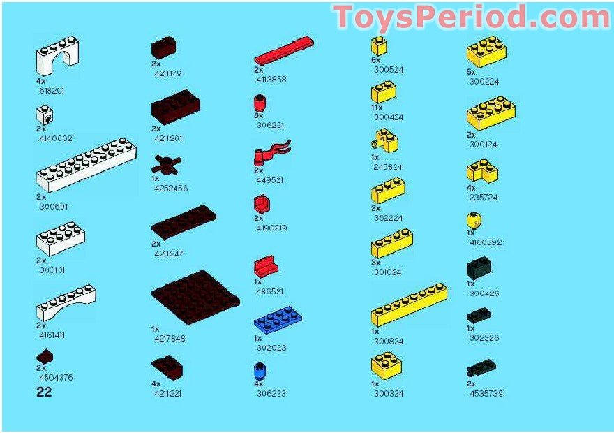 simple lego castle instructions