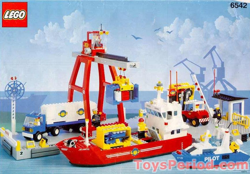Lego 6542 Launch And Load Seaport Set Parts Inventory And