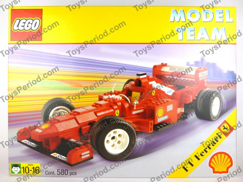 Technic Sets Lego 2556 Ferrari Formula 1 Racing Car Shell Vintage 97 New