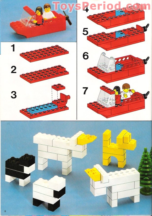 Lego 550 1 Basic Building Set Set Parts Inventory And Instructions