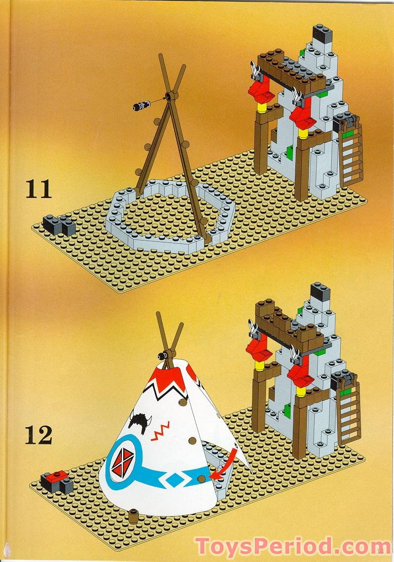 Lego 6766 Rapid River Village Set Parts Inventory And