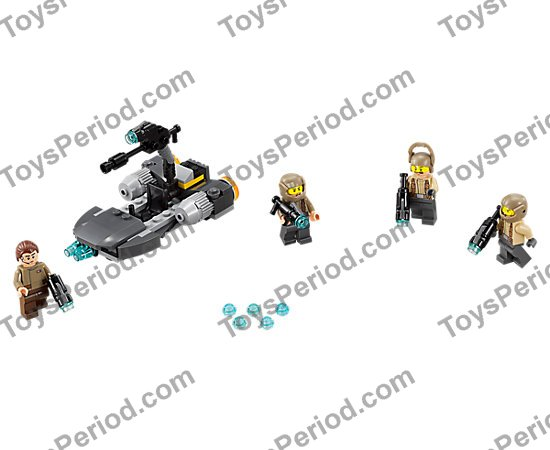 75131 75132 75133 75134 16 minifigure Retired LEGO Star Wars Set New In Box 4