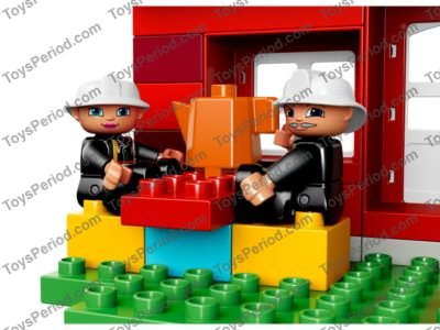 LEGO 10593 Fire Station Set Parts Inventory and Instructions ...