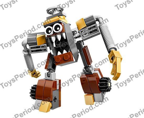 New - Age 6+ 59 pcs; #41537; Klinkers LEGO Mixels Series 5 Jinky Bag Set
