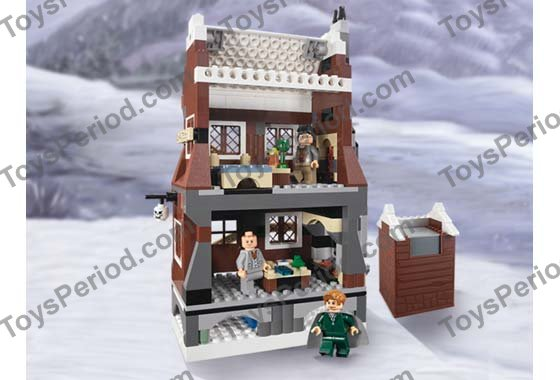 Lego Harry Potter 1 TAN WITH WOOD GRAIN TILE FROM THE SHRIEKING SHACK SET 4756