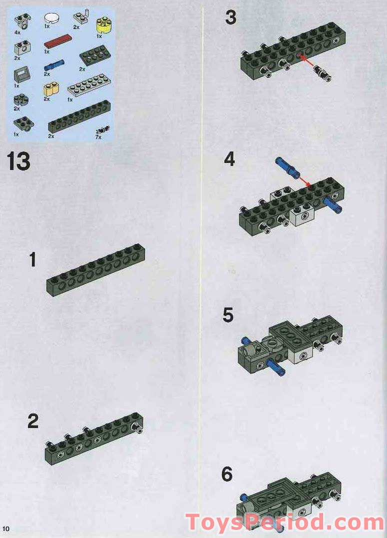 Star Wars At Ap Lego Instructions