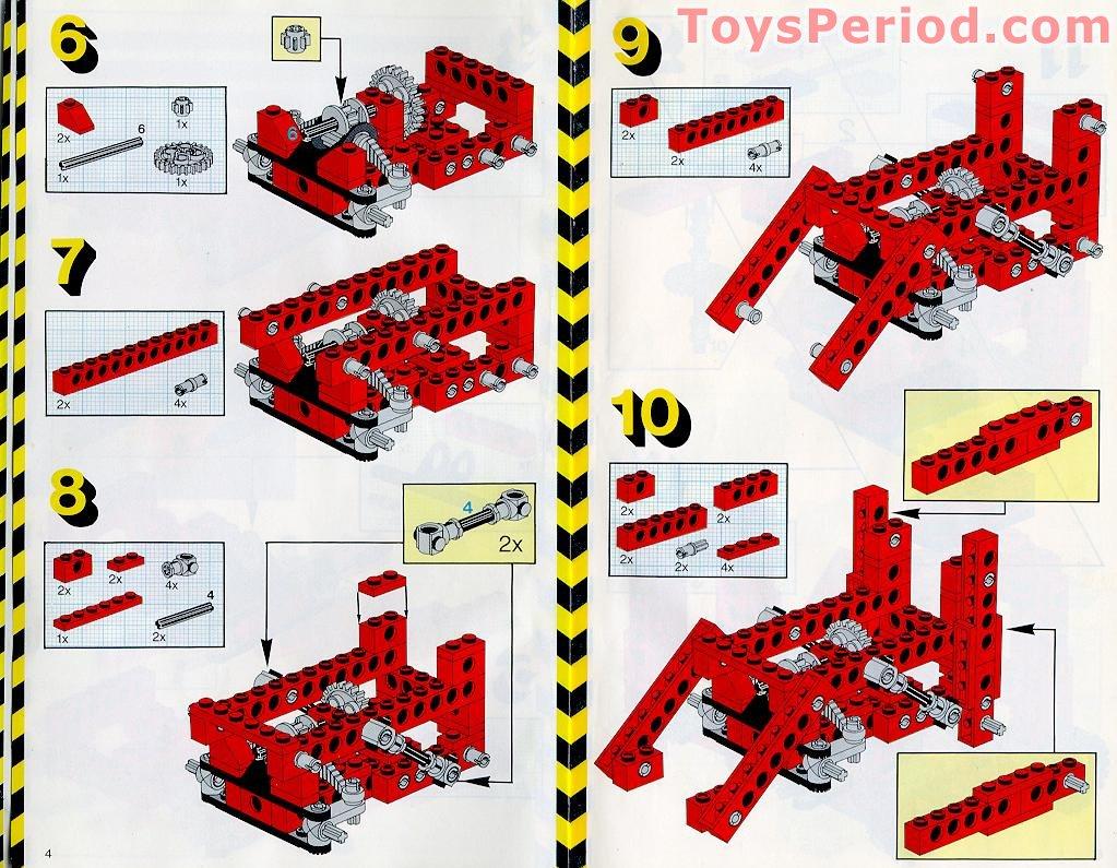 lego set instructions free