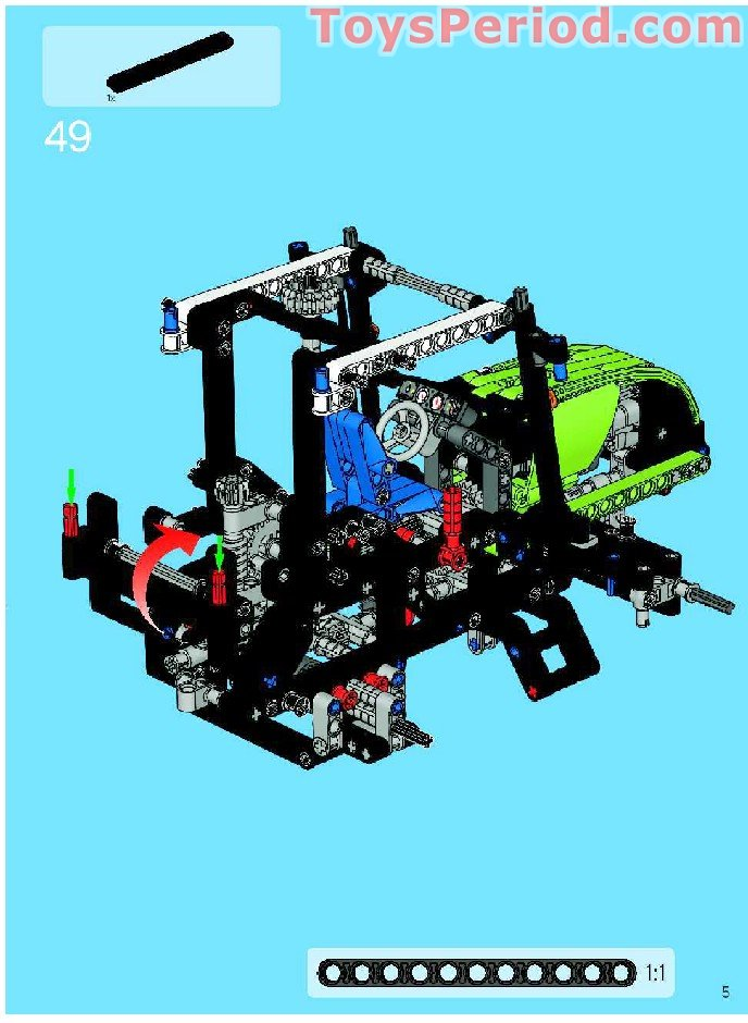 lego technic dune buggy instructions