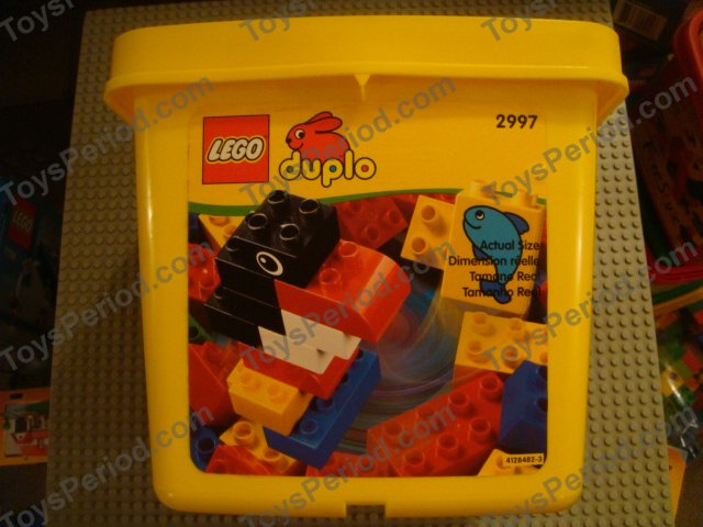 Lego 2997 Small Duplo Bucket Set Parts Inventory And