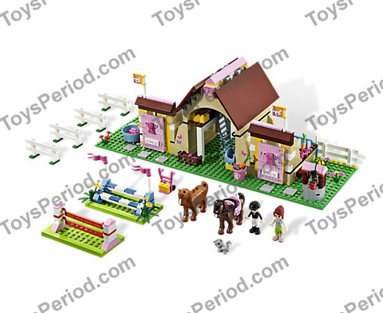 Lego 3189 Heartlake Stables Set Parts Inventory And Instructions