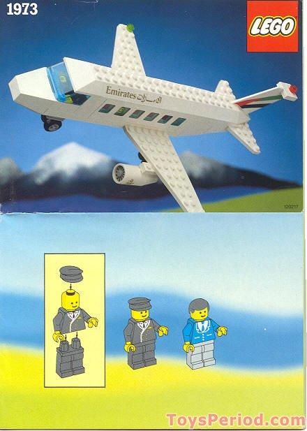 Lego 1973 Emirates Airline Promotional Set Airliner Set