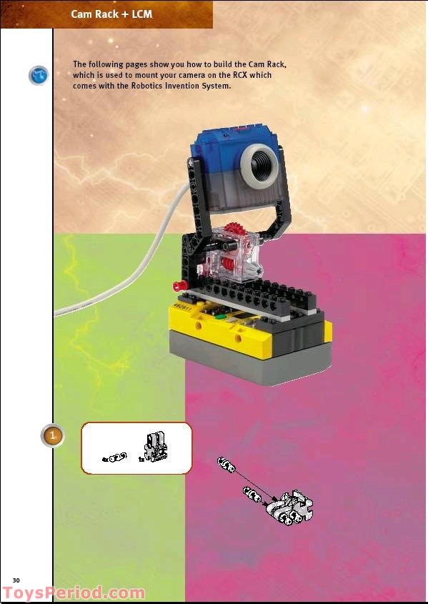 ... Camera) Set Parts Inventory and Instructions - LEGO Reference Guide