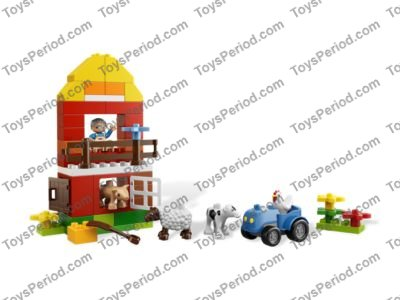 Lego 6141 My First Lego Duplo Farm Set Parts Inventory And