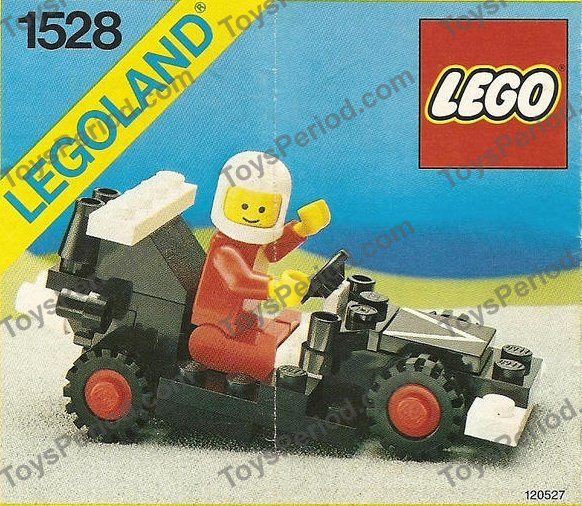 LEGO 1528 Dragster Set Parts Inventory and Instructions
