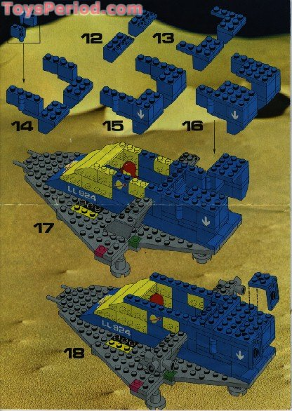 Lego 487 1 Space Cruiser Set Parts Inventory And Instructions Lego