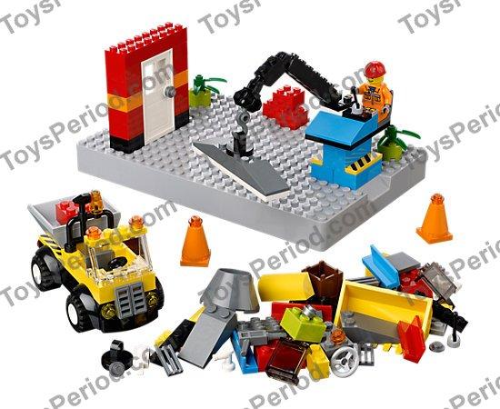 Cone 4 x 4x 2 Hollow No Studs in Dk Stone Dark Bluish Grey part no 4742 Lego