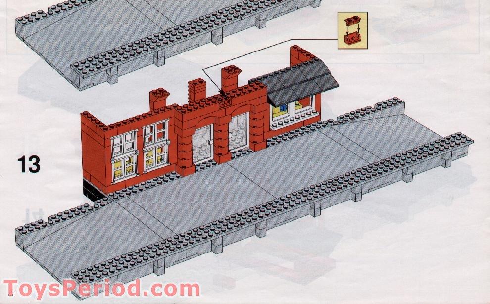 Lego 2357 Brick Corner 1x2x2 OLD DARK GRAY GREY X5 CITY CASTLE SPARE PARTS