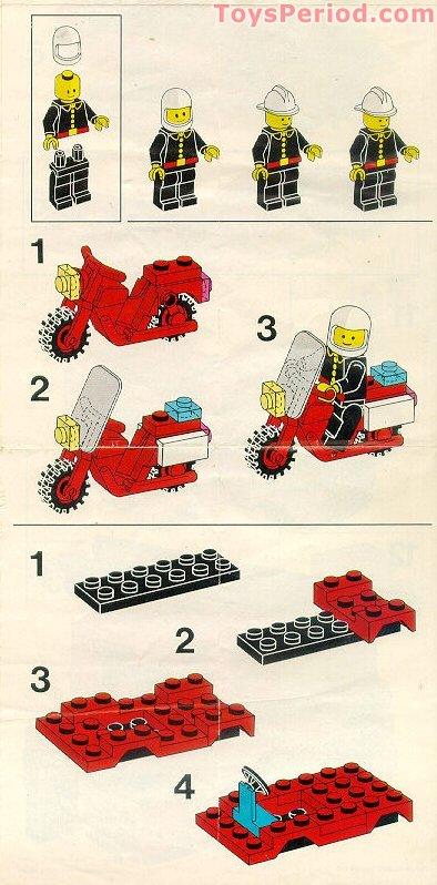 set 6382 6385 6650 6389 6366 Portes LEGO red doors fire ref 3821p09 /& 3822p09