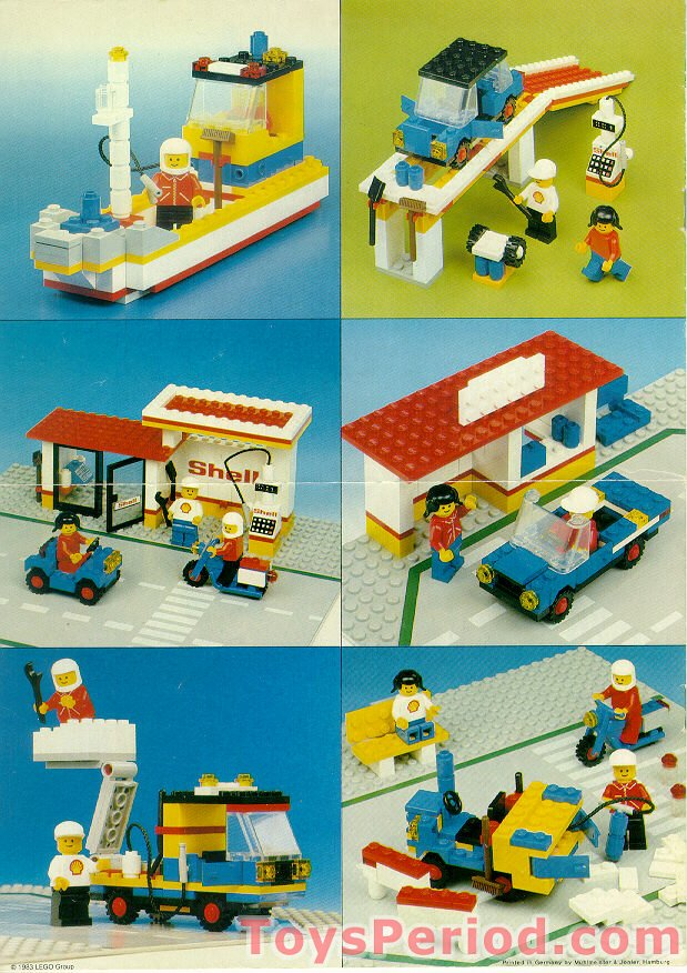 lego duplo gas station instructions