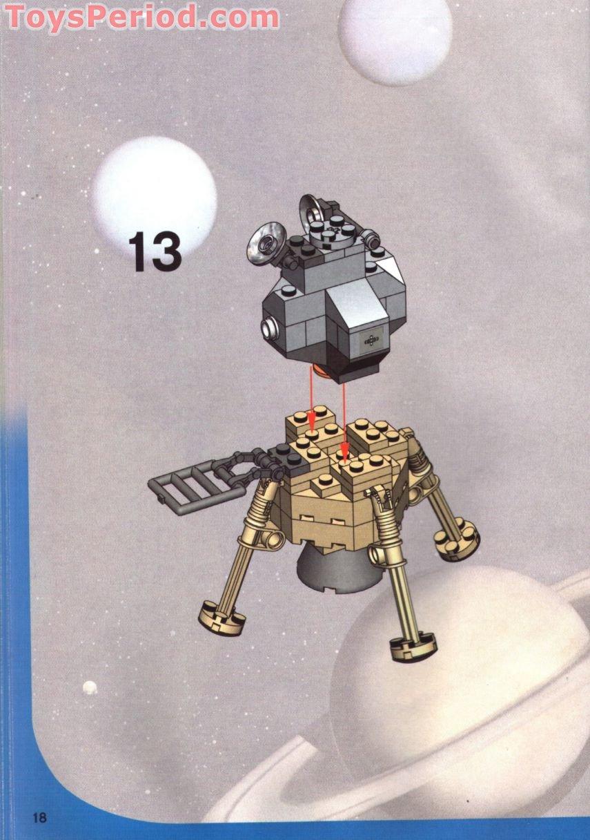 lego 7468 saturn v moon mission set parts inventory and. Black Bedroom Furniture Sets. Home Design Ideas