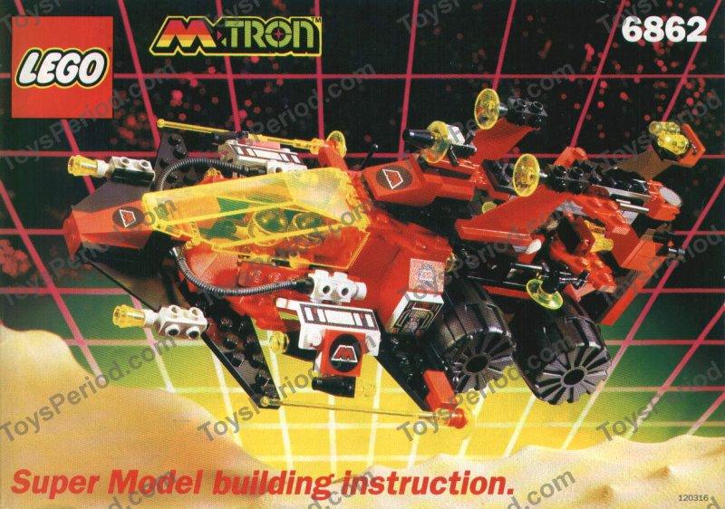 lego lex luthor robot instructions