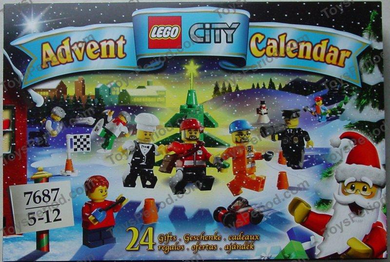 LEGO 7687 Town City Advent Calendar New