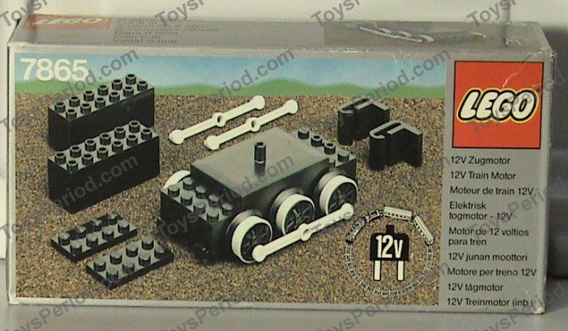 lego 7865 12v train motor set parts inventory and. Black Bedroom Furniture Sets. Home Design Ideas