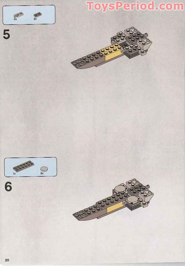 lego sith infiltrator instructions