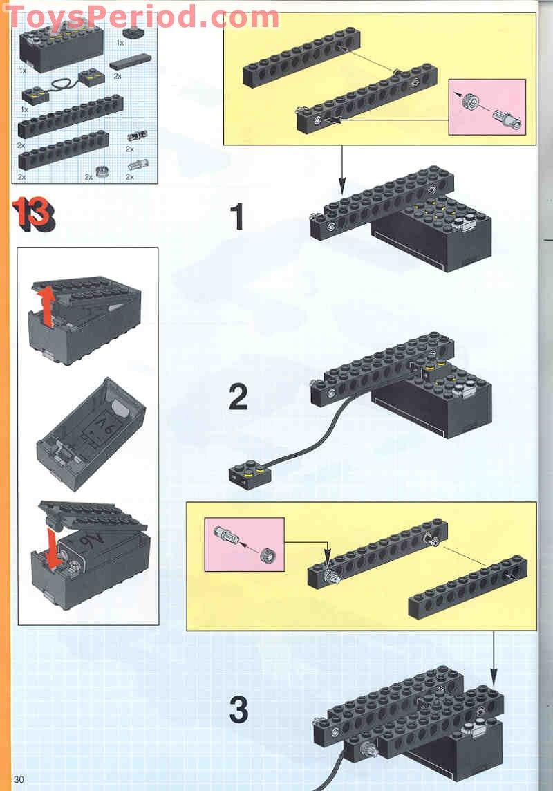 arm assembly instruction set