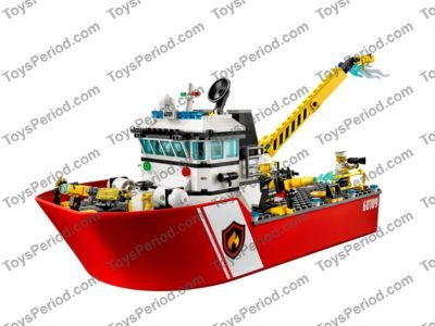 Baukästen & Konstruktionsspielzeug 2 and 3 Only Lego City 60109 Fire Boat Instruction Manuals 1