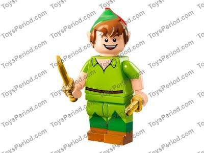 Lego captain hook disney series choose parts legs torso head hat sword foil epee