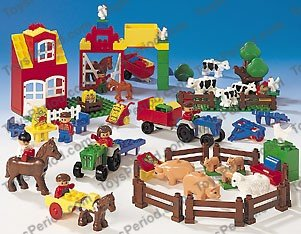 Lego 9133 Lego Duplo Farm Set Parts Inventory And Instructions