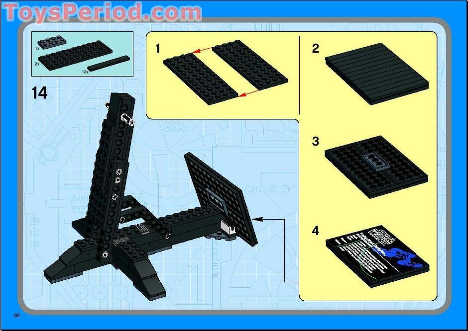 lego star wars v wing starfighter instructions