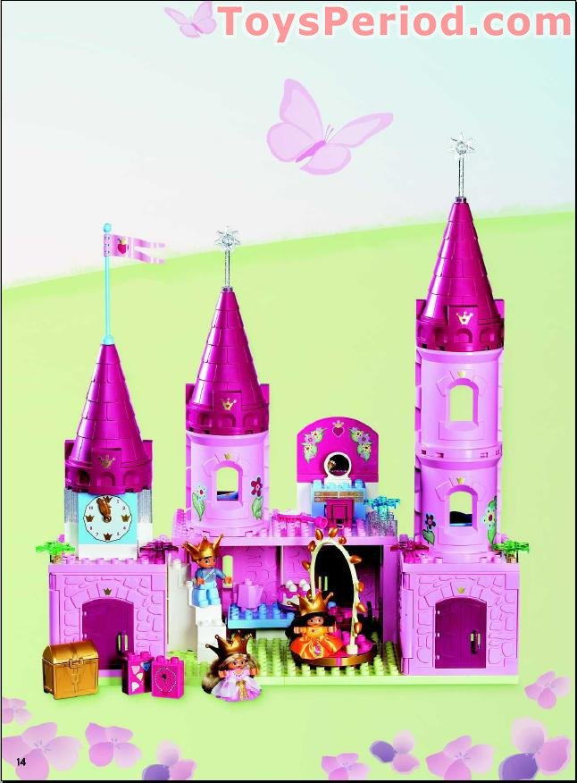 Lego 4820 Princess Palace Set Parts Inventory And