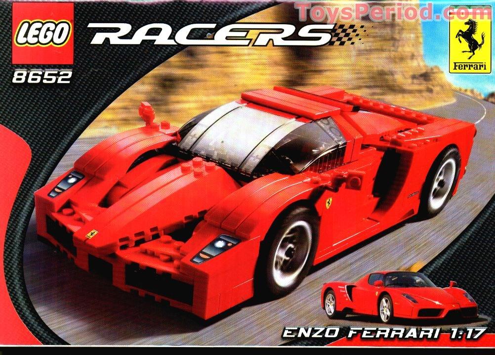 Lego 8652 Enzo Ferrari 1 17 Set Parts Inventory And
