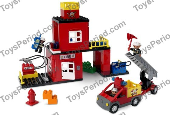 Lego 4664 Fire Station Set Parts Inventory And Instructions Lego