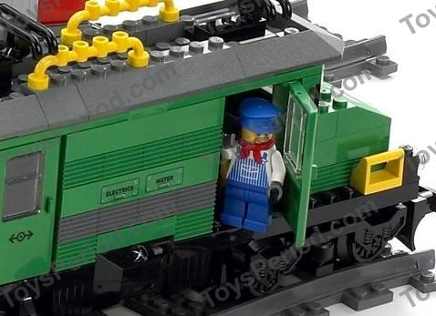 lego city red cargo train instructions