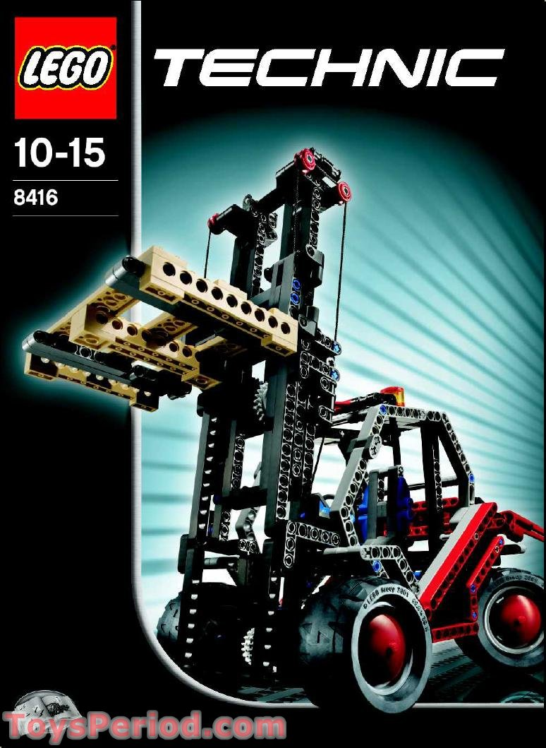 LEGO 8416 Forklift Set Parts Inventory and Instructions ...