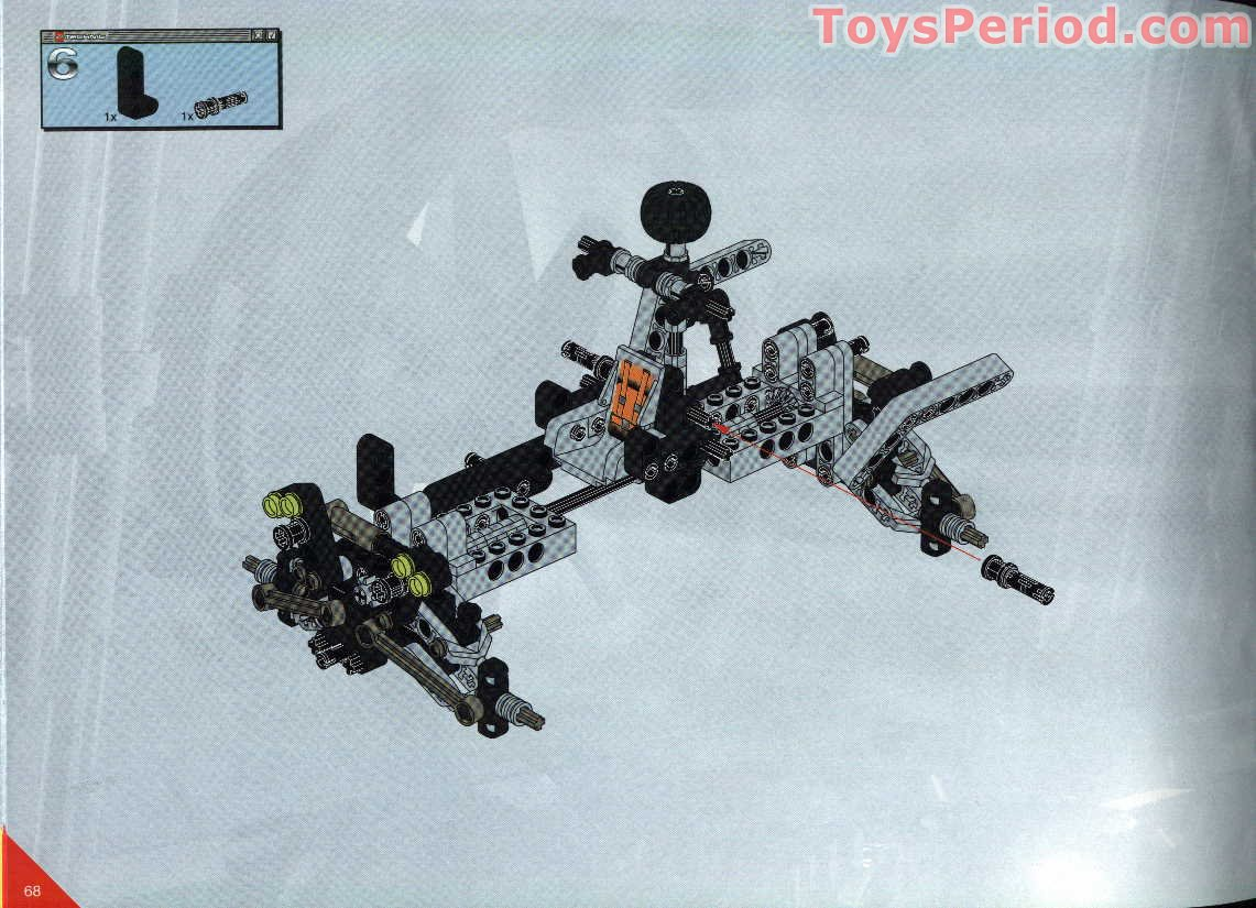 Lego 8465 Extreme Off Roader Set Parts Inventory And
