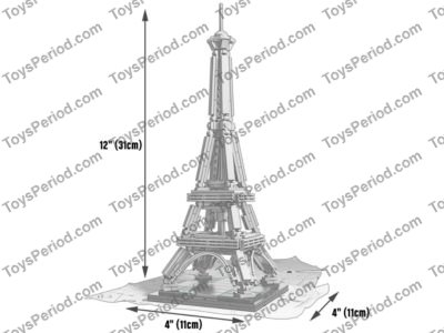 Lego 21019 The Eiffel Tower Set Parts Inventory And Instructions