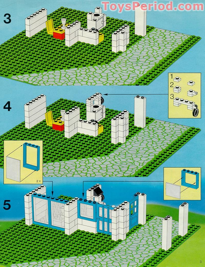 how to build a lego house step by step instructions